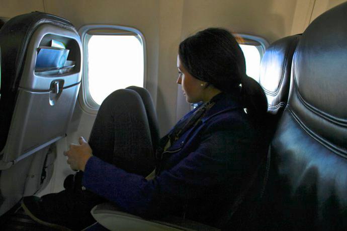 Claustrofobia en el avión