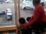 Mirando los aviones