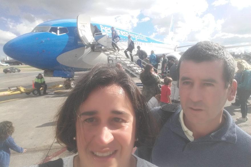 Su primer vuelo