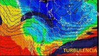 Así se ve la turbulencia