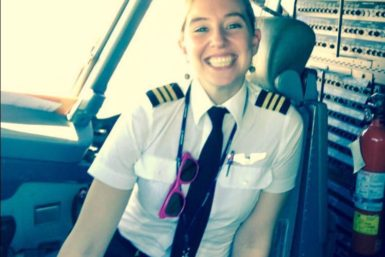 Flor Bertotto, copiloto de Copa Airlines
