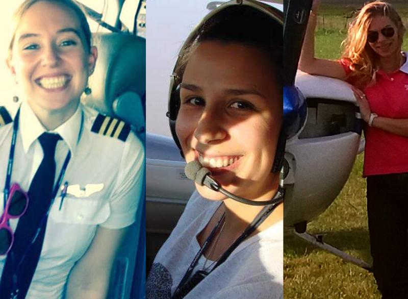 3 mujeres pilotos