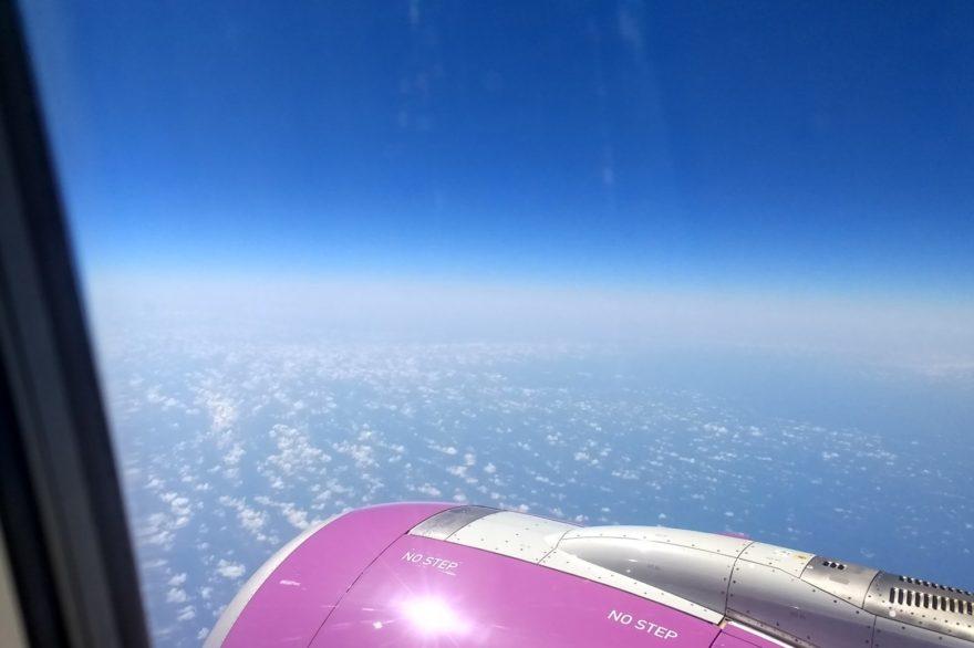 El Caribe desde el avión