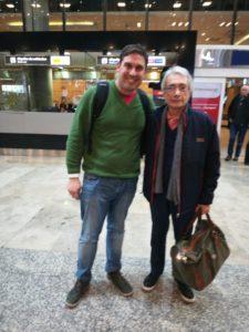 José y Nicolás Machín en AEP