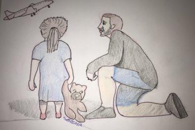 Miedo a volar en los niños