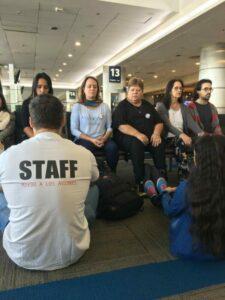 Relajación en el aeropuerto