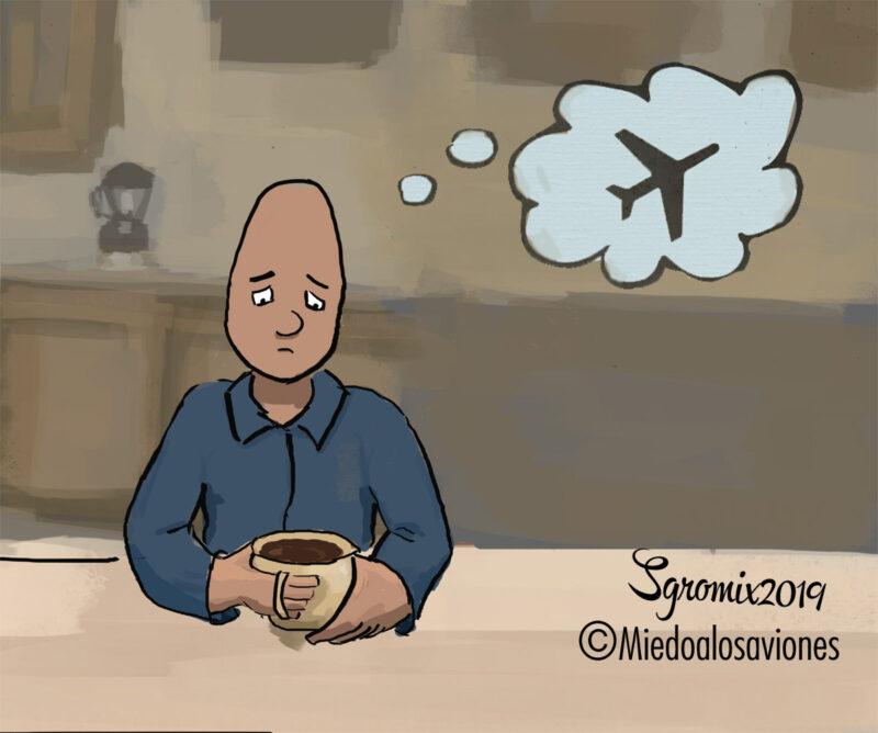 Ansiedad pre vuelo
