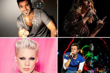 Adiviná cuales son los cantantes más elegidos
